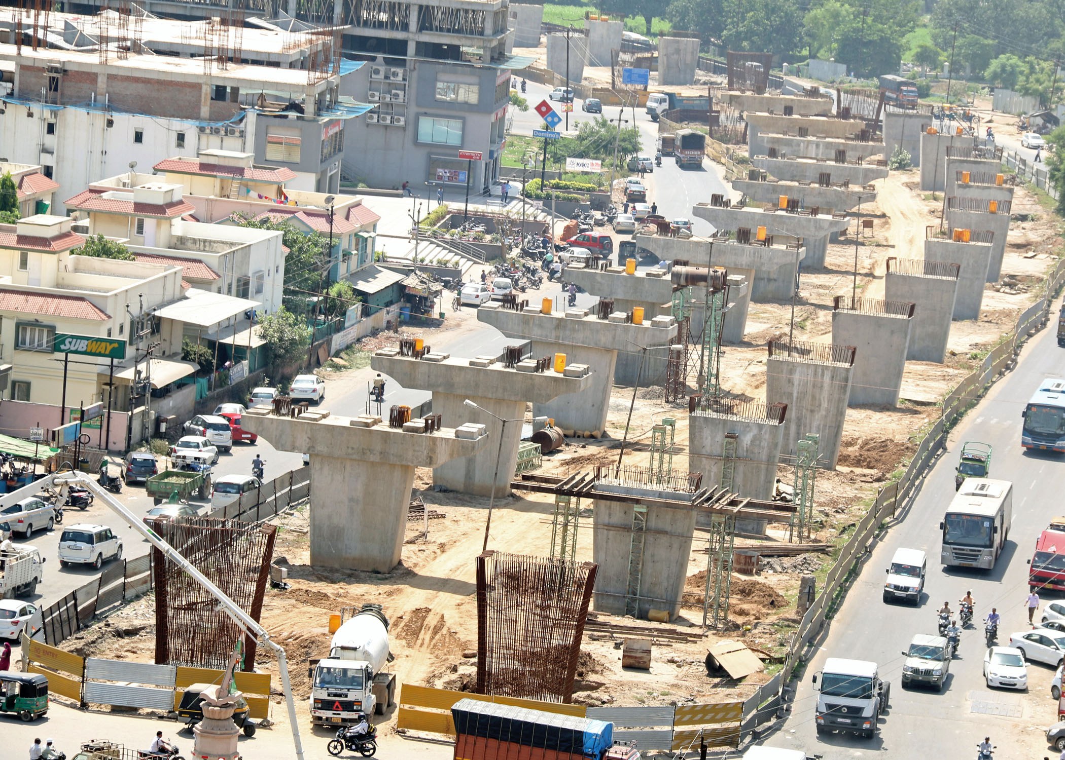 Build infrastructures in Ahmedabad